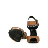 Pierre Hardy Leather Sandals With Tapered Heel Angle5