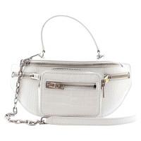 Alexander Wang Leather Handbag In Bum Bag Shape