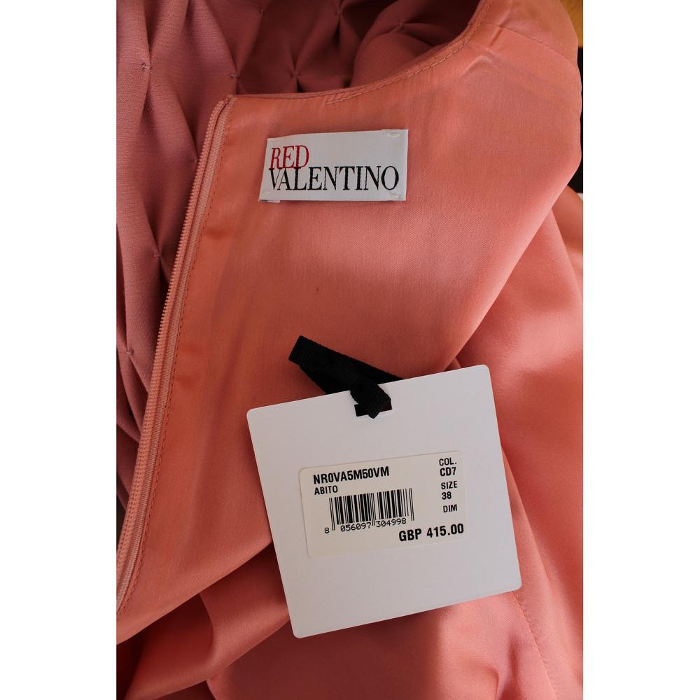 Red Valentino Sleeveless And Round Neck Dress