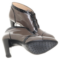 Tod's Ankle Boots With Lace Angle4