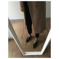 Patent Leather Ballet flats by Celine Angle2