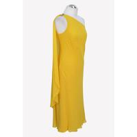 Ralph Lauren Shift Yellow Dress Angle3