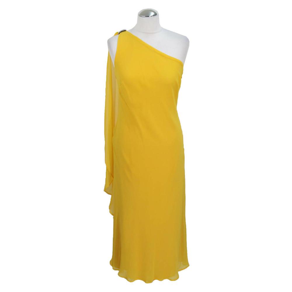 Ralph Lauren Shift Yellow Dress