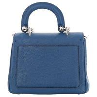 Dior blue hand bag. Angle2