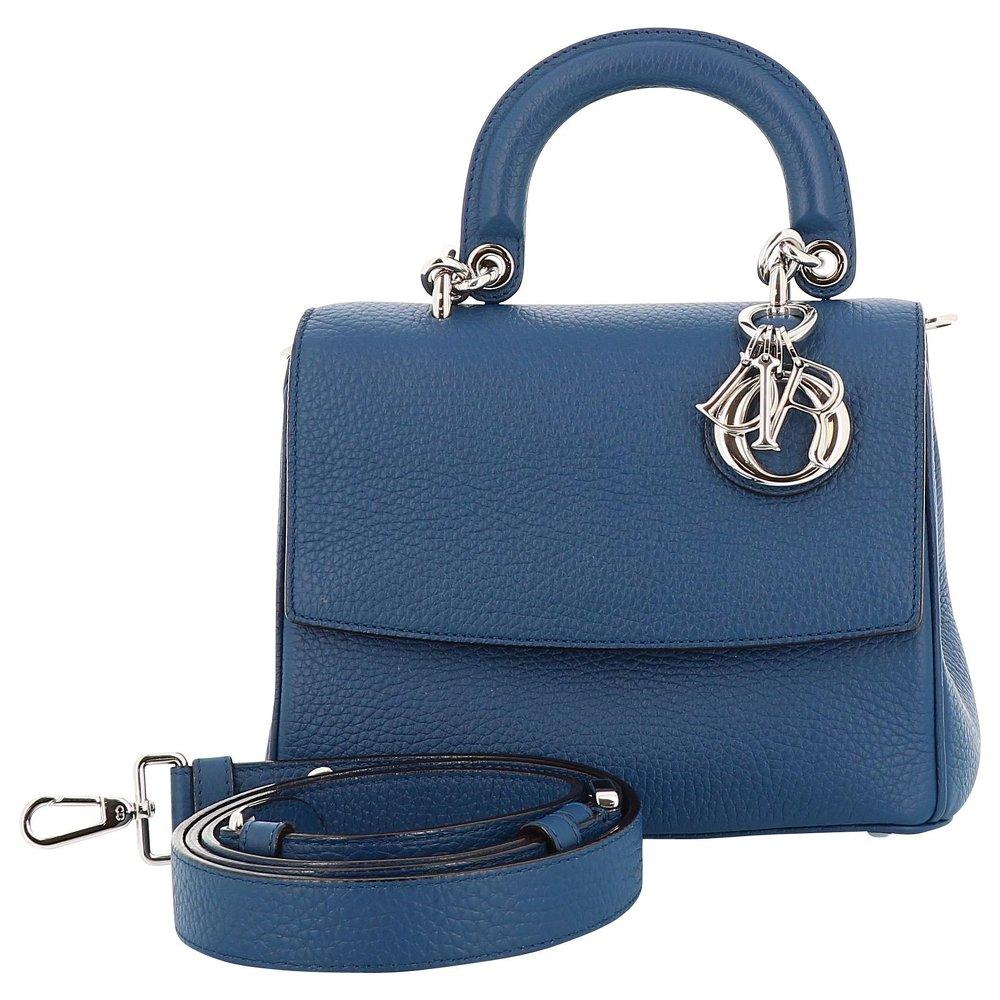 Dior blue hand bag.