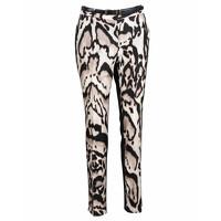 Diane Von Furstenberg Leopard Spot Jeans