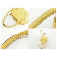 Loewe Yellow Handbag Angle5