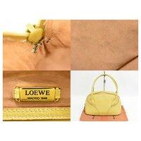 Loewe Yellow Handbag Angle7