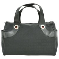 Bulgari Black Handbag Angle1
