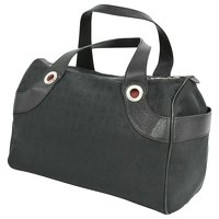 Bulgari Black Handbag Angle2