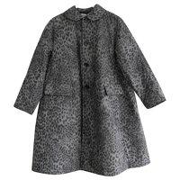 Leopard Puffer Coat by Comme Des Garcons