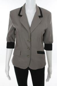 Brown jacket with black trim Angle5