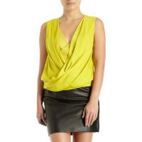 Yellow New Issie Two Top Silk Angle2