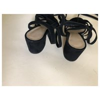Black Sandals by Gianvito Rossi. Angle8