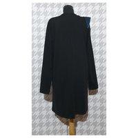 Ganni Black Dress. Angle3