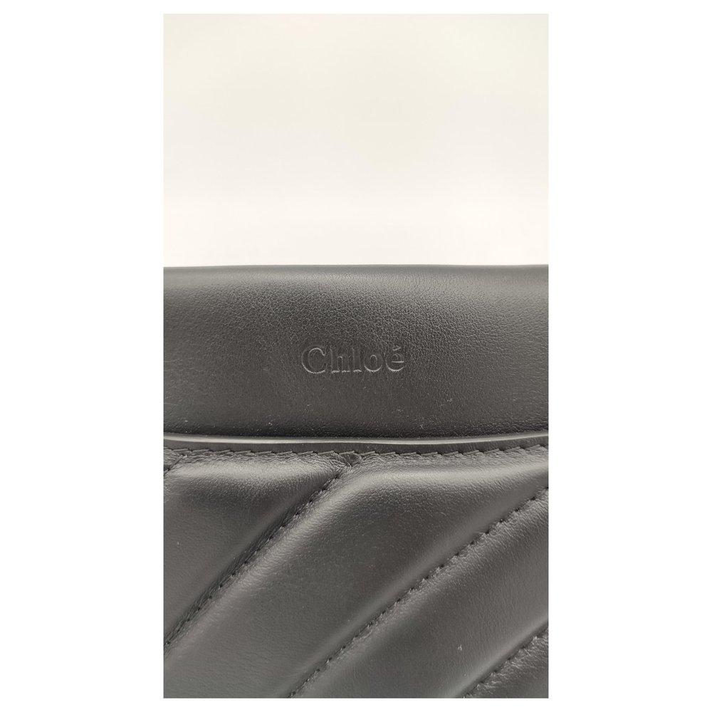 Chloe Roy bag in black leather