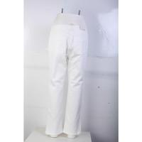 Chloe White Flare Jeans Pant Angle3