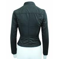Elie Tahari Jacket With Metallic Zippers Angle5