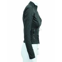 Elie Tahari Jacket With Metallic Zippers Angle4