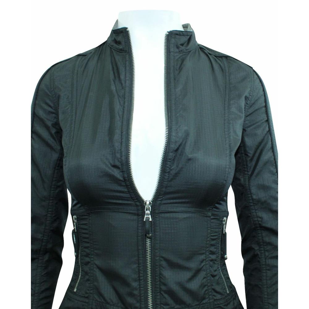 Elie Tahari Jacket With Metallic Zippers