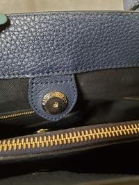 Burberry bag with classic print side panels Angle8