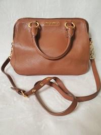 Miu Miu Shoulder Bag Angle2