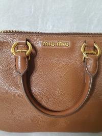 Miu Miu Shoulder Bag Angle3