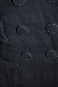 Nanette Lepore Blue Collared Button Angle4