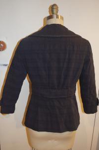 Nanette Lepore Blue Collared Button Angle3