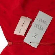 Christopher Kane Red Silk  Midi Dress Angle6
