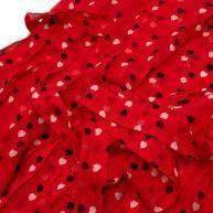 Christopher Kane Red Silk  Midi Dress Angle7