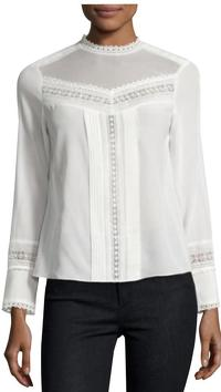 Victorian Style Shirt Blouse by Rebecca Taylor