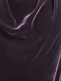 Vince Bordeaux Cowl neck blouse size 0 Angle4