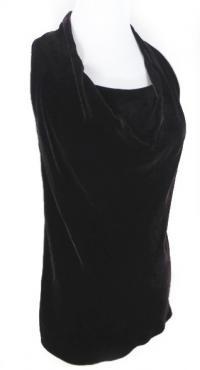 Vince Bordeaux Cowl neck blouse size 0 Angle2