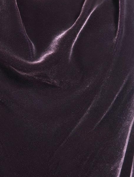 Vince Bordeaux Cowl neck blouse size 0