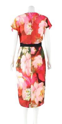 Ted Baker Floral Knee Length Cocktail Dress