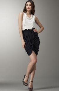 Phillip Lim  Draped Faux-Wrap Skirt Angle6