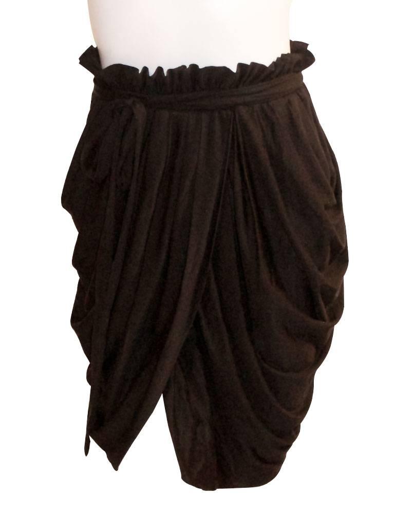 Phillip Lim  Draped Faux-Wrap Skirt