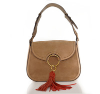 Tory Burch tassle suede bag Angle1