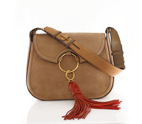 Tory Burch tassle suede bag Angle9