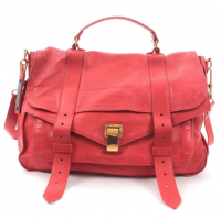 Proenza Schouler Red PS1 Large Satchel