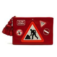 Anya Hindmarch  'Men At Work' Clutch Bag