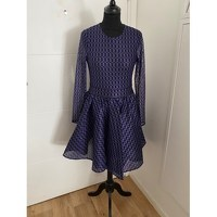 Purple Midi Dress by Maje Angle1
