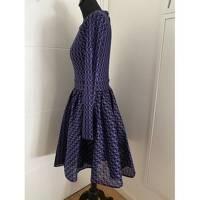 Purple Midi Dress by Maje Angle4