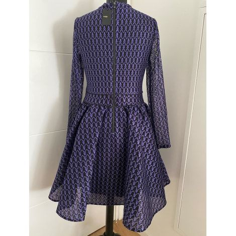 Purple Midi Dress by Maje