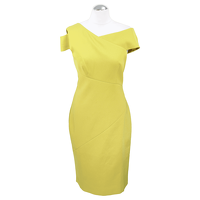 Ted Baker Shift Dress In Yellow