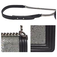Chanel Black Handbag Angle3