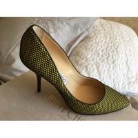 Leather Heels Pumps by Jimmy Choo