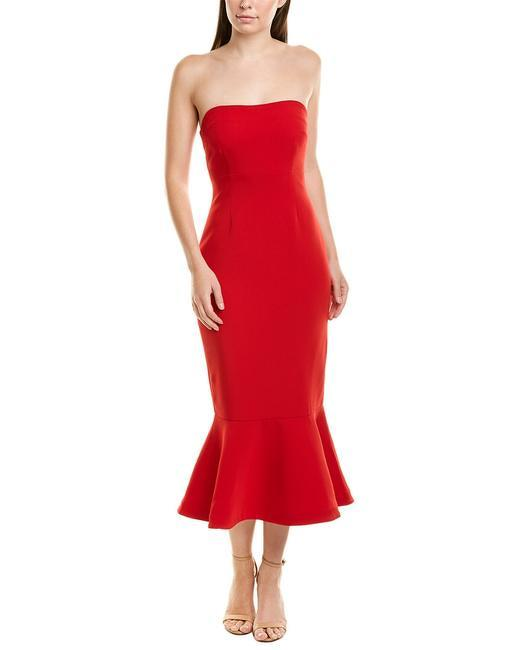 Red Casual Maxi Dress by Cinq a Sept