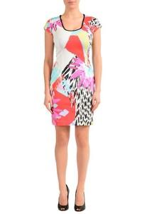Just Cavalli Multi Color Sleeveless Dress